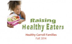 Healthy Carroll Families - Fall 2014