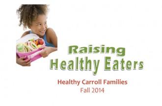 Healthy Carroll Families - Fall 2014