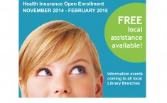 Health Insurance Info Events - through Feb. 2015