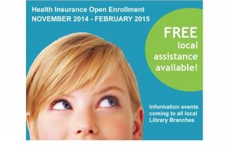 Health Insurance Info Events - through Feb. 2015