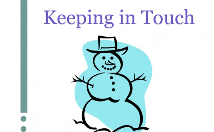 Keeping in Touch - Jan. 2015