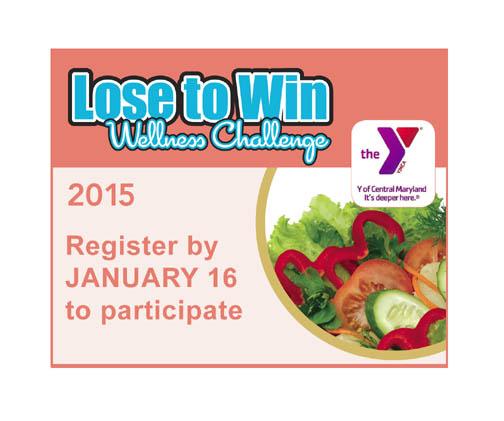 2015 LOSE TO WIN Wellness Challenge