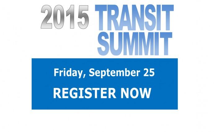 Transit Summit - Sept. 25