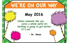 We're On Our Way 2016 program summary
