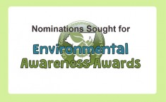 Nominations for 2018 Environmental Awareness Awards - due Mar. 1