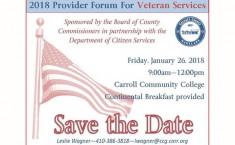 Provider Forum for Veteran Services - Jan. 26